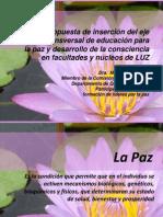 Presentación propuesta eje de la paz flor de loto