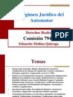 Regimen jurídico automotor 2012
