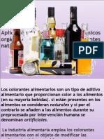 Aplicación de los compuestos químicos orgánicos en la industria presentacipon 1ç