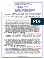 VaYigash Selections from Rabbi Baruch Epstein