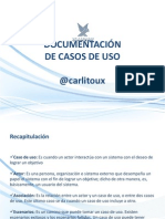 Documentación Casos de Uso