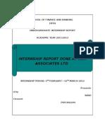 Internship Report KSK Associates