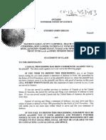 Griggs v OPTrust Et Al - Statement of Claim