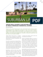 Suburban Links by Yvonne Newman