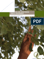 Assessing and Monitoring Forest Governance
