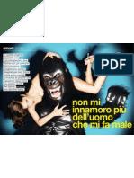 Scimmioni adieu! (Glamour, Condè Nast)