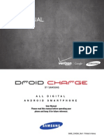 Charge Manual