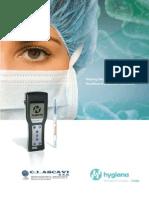 Informacion Luminometria ATP Sector Salud