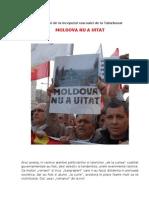 MOLDOVA N-A UITAT. 88 de ani de la inceputul rascoalei de la Tatarbunar