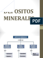 Depositos Minerales Xx