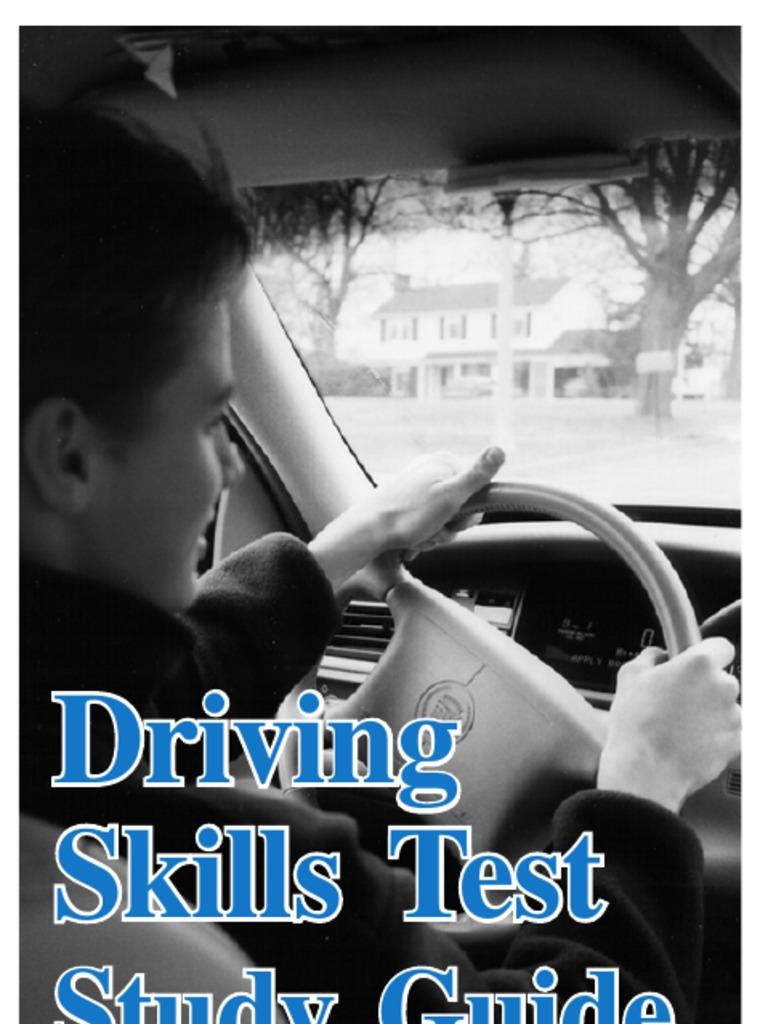 Road Skills Test Study Guide 05 02 21935 7 Traffic Traffic Light