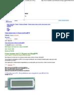 BrazilFW Firewall - Display LCD