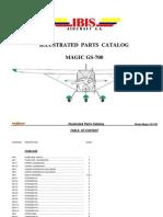 3-Magic GS-700 LSA (2 Seats) Illustrated Parts Catalog (Rev 002. 20 October 2011)