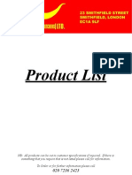 Product Meatlist