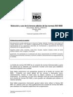 Selección y uso de las normas ISO 9000.pdf