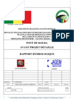 Rapport Hydrologique (1)