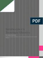 Introducción a la Tecnología Educativa