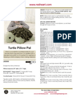 Turtle Crochet Pattern