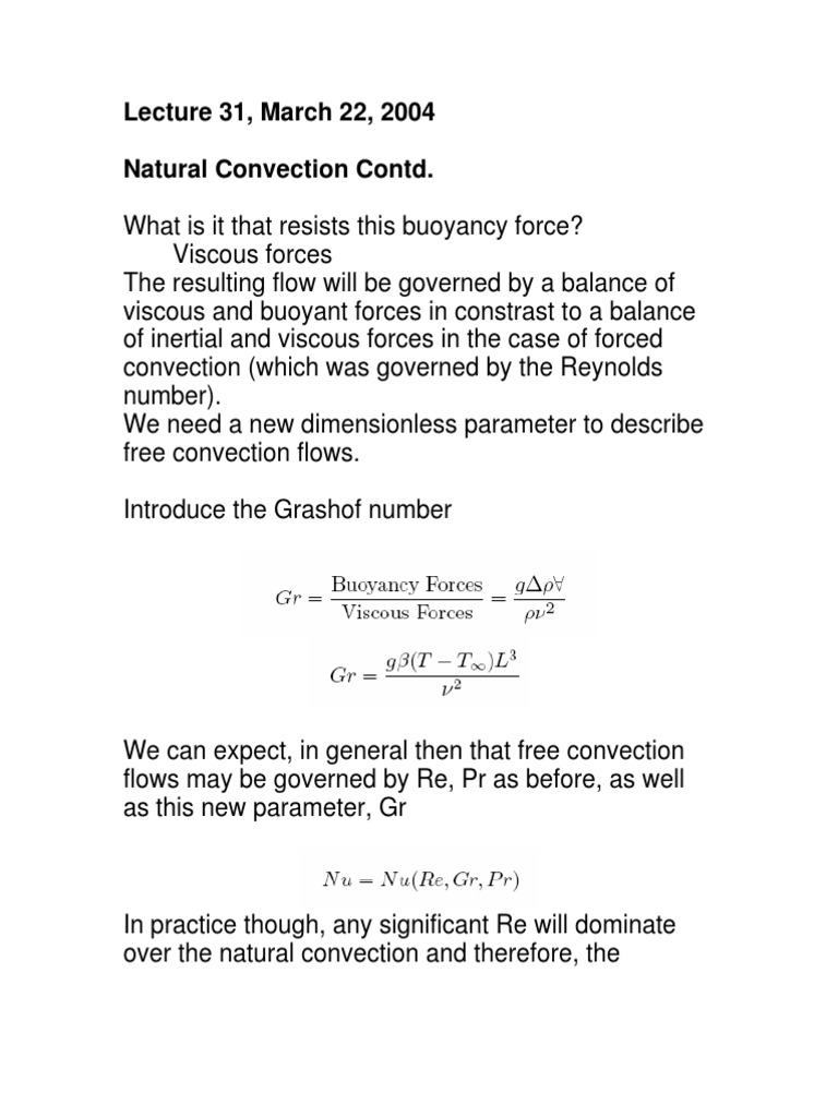 What is convection. Free convection 47