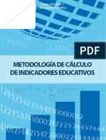 Calculo de Indicadores Educativos