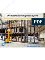 SAP Warehouse Management System (Internal Team Presentation)