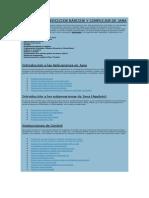 SUMARIO DE EJERCICIOS BÁSICOS Y COMPLEJOS DE JAVA