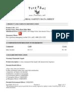 MSDS H2O Mist 03.21.12