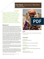 Oxfam - Fact Sheet Sahel