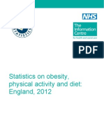 Statistics on Obesity Physical Activity and Diet England 2012