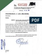 Ofic. Mult. N° 188-2012-DREJ-COPAREJ