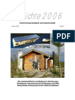 Thyssen Krupp Geoinformatik Berichtsheft 2006