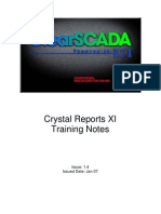 Crystal Reports XI-2 Day Training Course v1-4