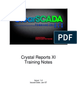 Crystal Reports XI-2 Day Training Course v1-4   Databases