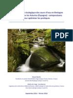Estudio ríos Bretaña-Narcea