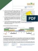 Burkina Faso - Food Security Outlook