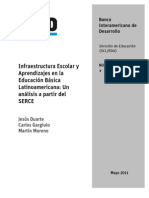 2011 BID Infraestructura Escolar