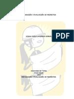 PREPARACIÓN Y EVALUACIÓN DE PROYECTOS PAOLA