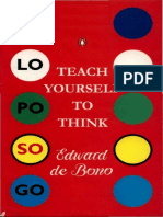 23481248 Edward de Bono Teach Yourself to Think