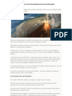 Vulcão Yellowstone e as Consequências de uma Erupção
