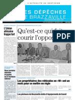 Brazzaville quotidien 2008 / 12 / 31