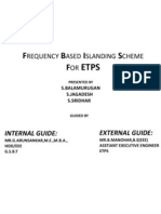 Frequency Based Islanding Scheme for Etps