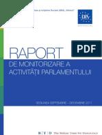 Raport Parlament 2