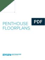 Bayswater Vancouver Penthouse Floorplans Mike Stewart