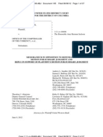 UWBK 6-8-2012 #105 MEMORANDUM IN OPPOSITION TO FDIC MOTION FOR SUMMARY JUDGMENT AND REPLY IN SUPPORT OF PLAINTIFFS MOTION FOR SUMMARY JUDGMENT.pdf