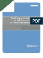 Whitepaper SAP Bestpractice Vmware