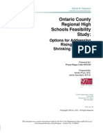 Ontario County Regional Hs Study