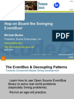 Hop on the Event Bus Web