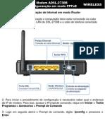 DSL-2730B Configuracao PPPoE Default