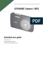 Kodak EasyShare Camera M52 Extended User Guide
