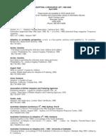 Adoption a Resource List 1985 to 2005